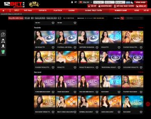 Gia dien nha cai 12BET - Casino online