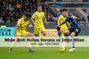 Nhận định Hellas Verona vs Inter Milan, 2h45, ngày 10/07/2020