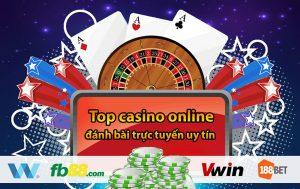 Top casino online uy tín có đánh bài trực tuyến tại việt Nam