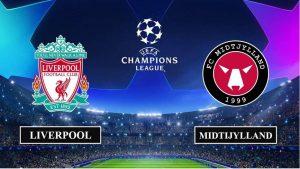 Soi kèo nhận định Liverpool vs FC Midtjylland, 3h00 ngày 28/10/2020, UEFA Champions League