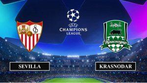 Soi kèo nhận định Sevilla vs FC Krasnodar, 3h00 ngày 05/11/2020, UEFA Champions League
