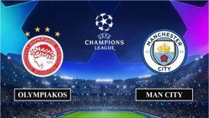 Soi kèo nhận định Olympiakos vs Manchester City, 0h55 ngày 26/11/2020