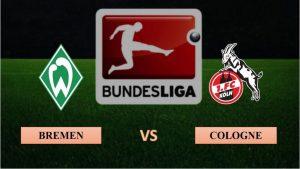 Soi kèo nhận định Werder Bremen vs FC Cologne, 02h30 ngày 07/11/2020, Bundesliga